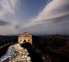 The Great Wall of China by Matthew Bonnington