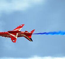 Lone Red Arrow by Adrian Richardson