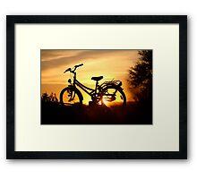 Wheels...  Framed Print