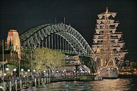 Sydney Series - The Rocks Boardwalk by sparrowhawk