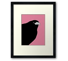 THE OLD CROW Framed Print