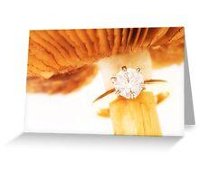 Golden memories Greeting Card