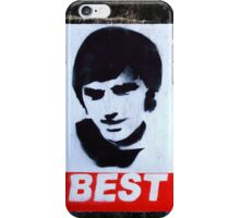 George Best Wall Art iPhone Case/Skin