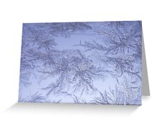 Frosted glass 7 Greeting Card