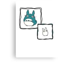 Little Totoro Canvas Print