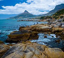Coast near Cape town by Viv van der Holst