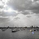 Boats in St Kilda by Dani Di Cesare