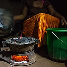 Malawian Dinner Prep by Tim Cowley