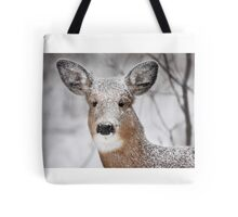 I hate snow! - White-tailed Deer Tote Bag