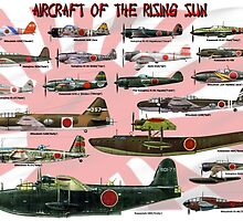 Aircraft of the Rising Sun by Mil Merchant