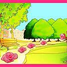 ROSES LANE by juliecat