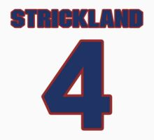 National baseball player George Strickland jersey 4 by imsport