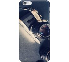 Vintage Camera with Lens iPhone Case/Skin