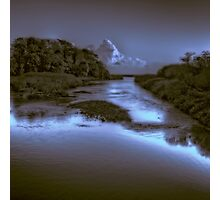 The River Otter Photographic Print
