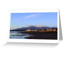 Mournes View Greeting Card