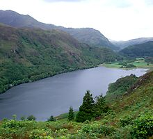Llyn Dinas by Gordon Hewstone