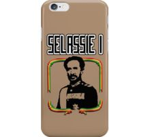 Selassie I iPhone Case/Skin