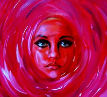 "A Person of a Painting...............""Rose 2""  by funkyfacestudio"
