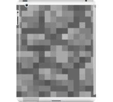 Minecraft Cobstones Block iPad Case/Skin