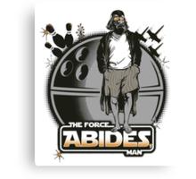 The Force Abides Canvas Print