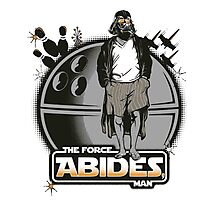 The Force Abides Photographic Print
