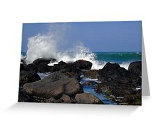 Causeway Waves Greeting Card