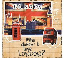 Who doesn't love London? by Mikepic