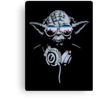 DJ Yoda Canvas Print