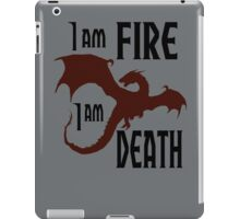 Fire & Death iPad Case/Skin