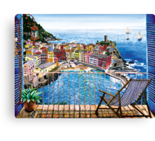 Vernazza - Italy Canvas Print