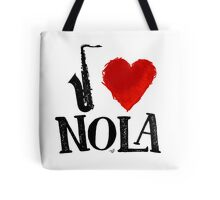 I Heart New Orleans (remix) by Tai's Tees Tote Bag