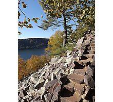 Stone Stairs Photographic Print