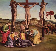 'Crucifixion' by Luca Signorelli by Legacy1Gallery