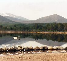 Loch Morlich, Scotland by georgiegirl