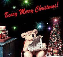 Christmas Eve at Bernie's (card) by Nadya Johnson
