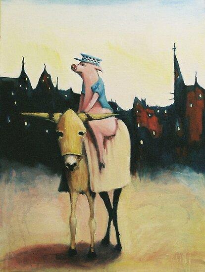 Pigs Ass by Nicholas  Beckett