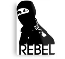 Rebel Metal Print