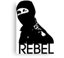 Rebel Canvas Print