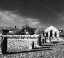 Avebury - Inner Circle by Bruce Halliburton