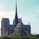 Notre Dame Cathedral by Erika Rathka