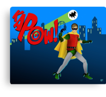 The Boy Wonder Canvas Print
