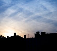 Dublin evening's sky by bejelith