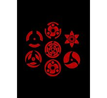 Sharingan Photographic Print