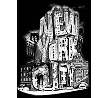 New York City Pencil by Tai's Tees Photographic Print