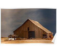 An Old Barn in Rural California Poster