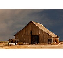 An Old Barn in Rural California Photographic Print