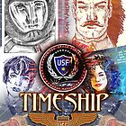 Timeship Anime Poster by Bob Bello