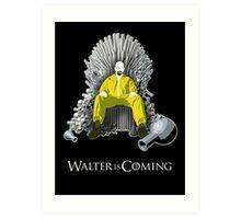 Breaking Bad - Walter is Coming Art Print