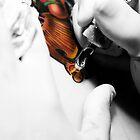 getting tattooed by grayscaleberlin