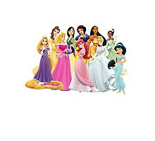 Disney Princesses Photographic Print